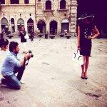 Momenti di backstage durante gli scatti per Conia Bags con Alessandro Mari PH. e Eleonora R. Model